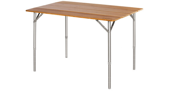 CAMPZ Bamboo Table 100x65x65cm